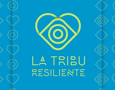 "Propuesta de logotipo ""la tribu residente"""