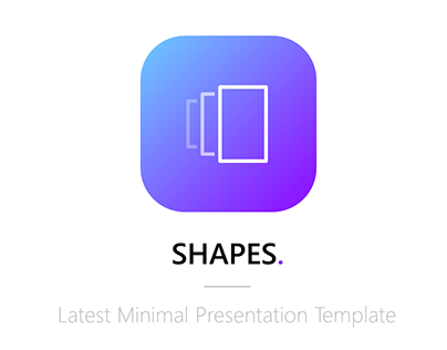 Shapes - Presentation Template | Unlock Your Creativity