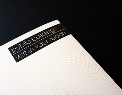 public buildings within your reach| book design