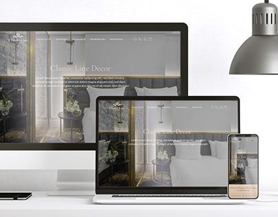 WEB Design   ClassicLineDecor