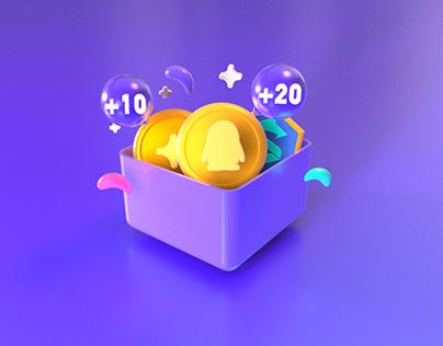 3D icons design