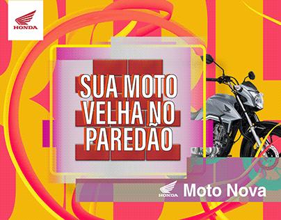 Campanha BBB20 - Moto Nova Honda