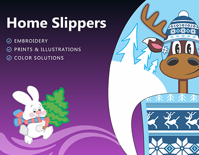 Home Slippers Design Collection