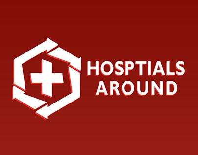 Hosptials Around - Logo Identity & App Interface Design