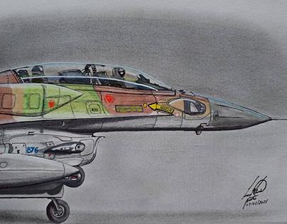 Israeli Air Force (IAF) F-16I Sufa