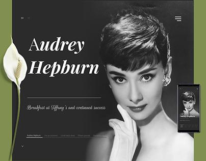 Audrey Hepburn - Celebrity mini landing