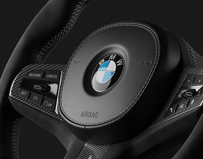 BMW X5M Steering Wheel 2019