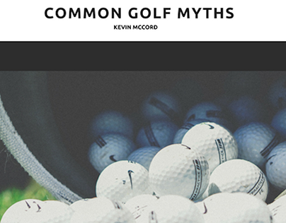 Kevin McCord, NYC, on Common Golf Myths