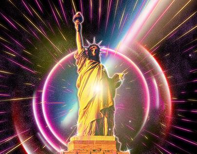 New Retro Statue of Liberty