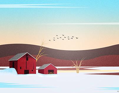 Red Winter Farm