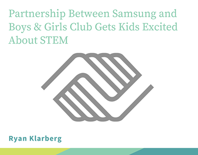 Partnership Between Samsung and Boys & Girls Club Gets