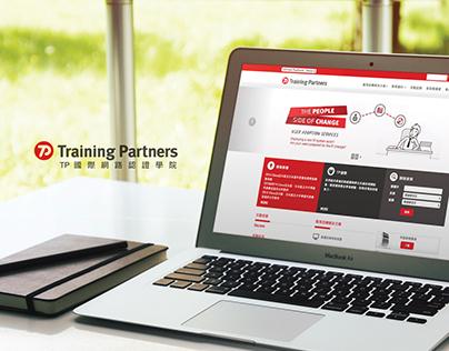 Training Partners Website -  TP國際網路認證學院