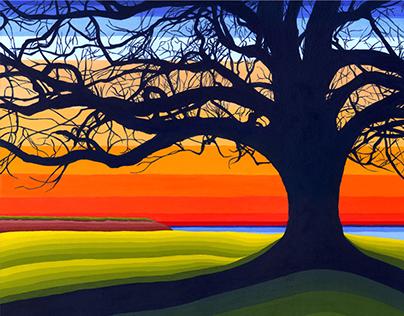 Line Series - Inspiration Canadian Landscape
