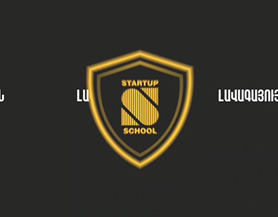 Startup School Typography Animation Video