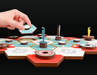 Donut Gang - Boardgame Design