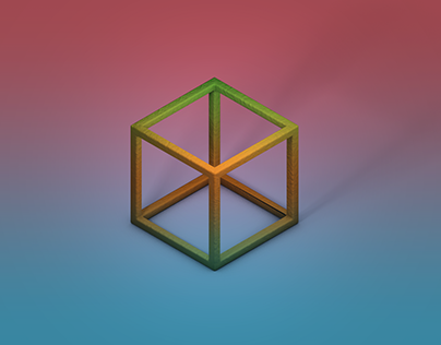 C4D Launch Isometric Cube