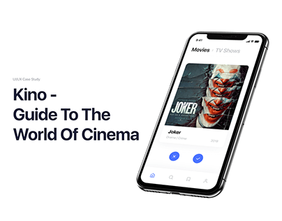 Kino. | Mobile App For Movie Searching | UI/UX