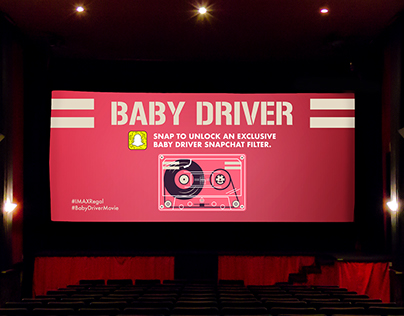 Baby Driver Snapchat Filter & Promotional Material