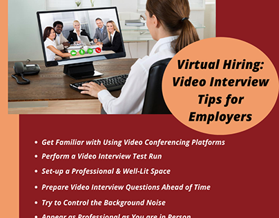 Virtual Hiring: Video Interview Tips for Employers