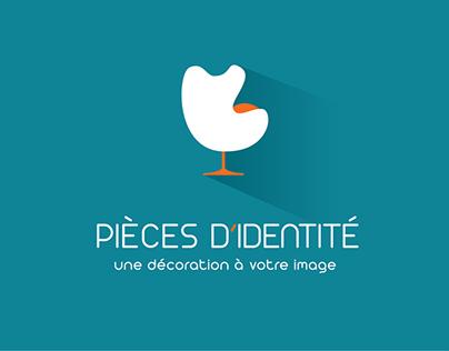 Pièces d'identité - une décoration à votre image - logo