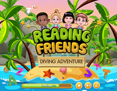 Reading Friends Diving Adventure A to Z