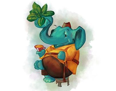 Herbal Tea Illustration