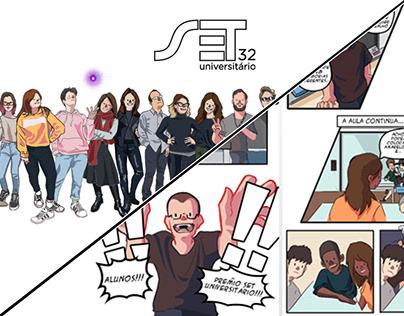 32º SET Universitário/ Ilustrações e Interação