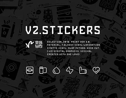 V2.STICKERS | 2016