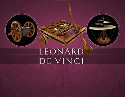 Leonard De Vinci - L'expérience 3D interactive