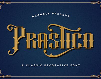 Prastico - Blackletter Font
