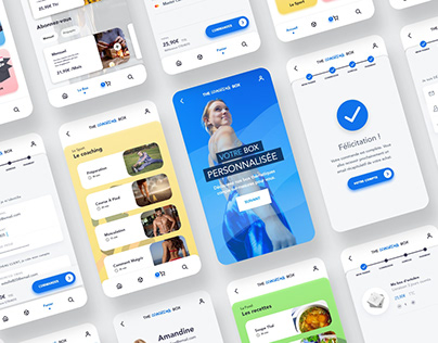 Design d'application - The Coaching Box