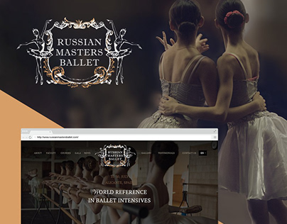 Russian Masters Ballet website