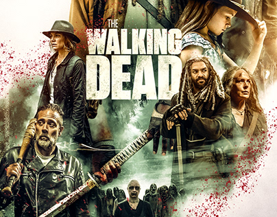 The Walking Dead Photocompositing Part II