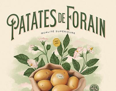 Patates de Forain