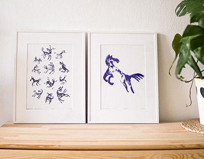 Horses Prints