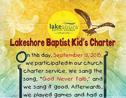 Lakeshore Charters - Print Designs