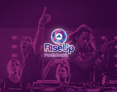 'RIse up' Porec Croatia -  Music Festival/Branding