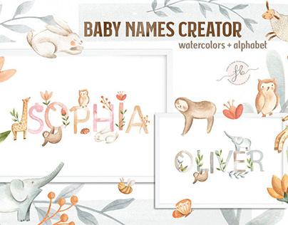 Baby Names Creator