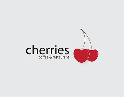Design Logo of Cherries Restaurant and Coffee Shop