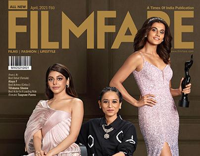 Filmfare Awards Cover April 2021
