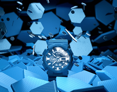 G-Shock Challenge | 3D Animation