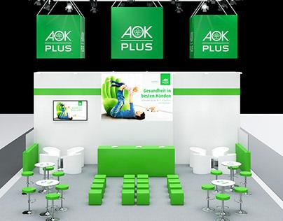 3D Concept Design - Exhibition booths for AOK