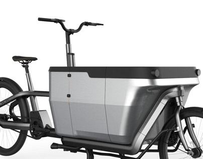 Carqon electric cargo bike