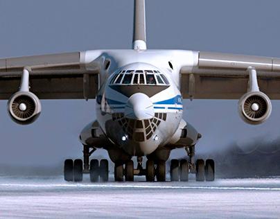 IL-76 aircraft