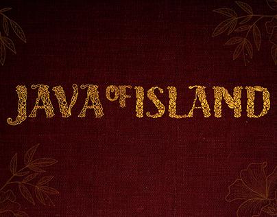 Java Island | Decorative Font