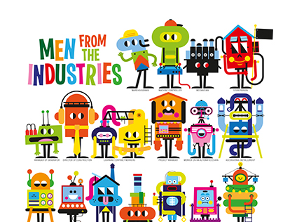 MEN FROM THE INDUSTRIES