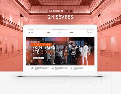24 Sèvres REDESIGN UI-UX