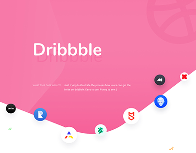 Dribbble Onboarding Invites Case