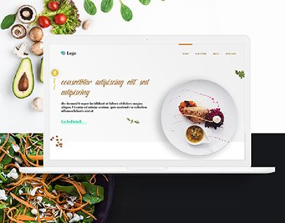 Restaurant Based Website Design