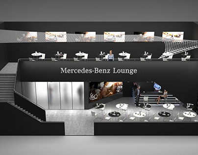 She's Mercedes Lounge for Mercedes-Benz
